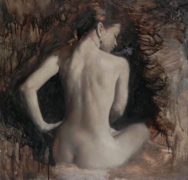MA 'Seated Nude'